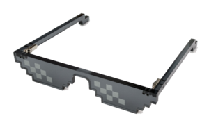 Deal With It Sunglass PNG Clip art