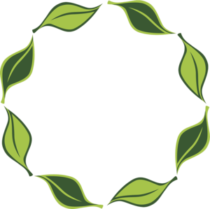 Decorative Leaf Transparent Background PNG icons