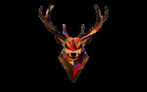 Deer Head Transparent Background PNG Clip art