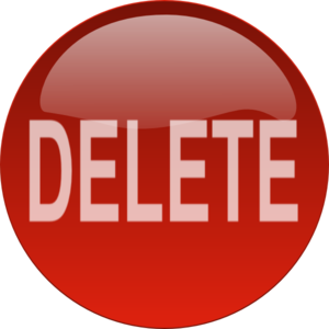 Delete Button PNG Free Download PNG Clip art