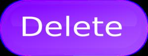 Delete Button PNG Pic PNG Clip art
