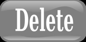 Delete Button Transparent PNG PNG Clip art