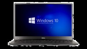 Dell Laptop PNG Transparent Image PNG image