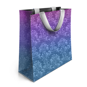 Designer Shopping Bag PNG PNG Clip art