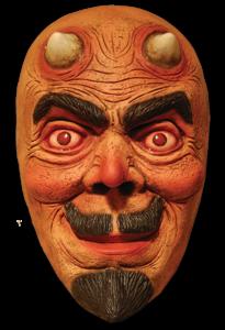 Devil Face PNG File PNG Clip art