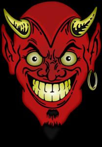 Devil Face PNG Image PNG Clip art