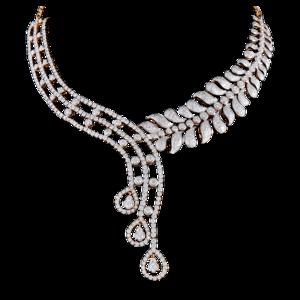 Diamond Necklace Transparent Background PNG Clip art