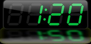 Digital Clock PNG Transparent Image PNG Clip art