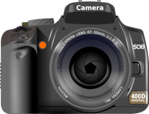 Digital SLR Camera Transparent Background PNG Clip art