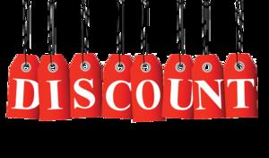 Discount PNG Transparent Picture PNG Clip art
