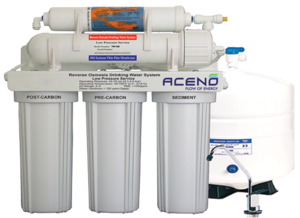 Domestic Reverse Osmosis System Transparent Background PNG image