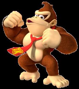 Donkey Kong Transparent Background PNG Clip art