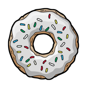 Donut PNG Transparent PNG clipart