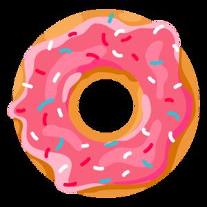 Donut Transparent Background PNG Clip art