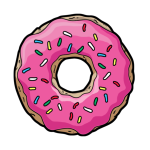 Donuts PNG File PNG Clip art