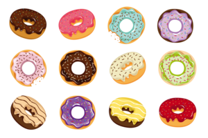 Donuts PNG Photos PNG Clip art