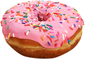 Donuts Transparent Background PNG icon