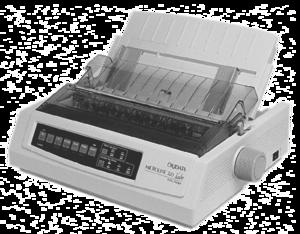 Dot-Matrix Printer PNG Image PNG clipart