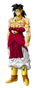 Dragon Ball Broly Transparent Background PNG Clip art