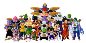 Dragon Ball Z Characters PNG File PNG Clip art