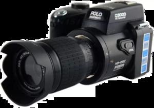 DSLR Camera PNG Free Download PNG image
