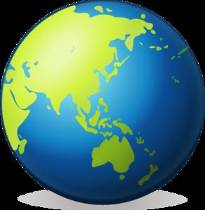 Earth Globe PNG Pic PNG Clip art