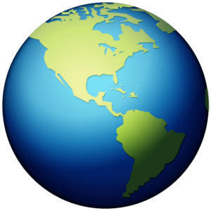 Earth Globe Transparent Background PNG Clip art