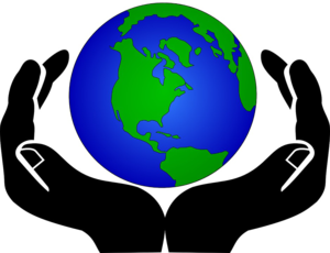 Earth In Hands Transparent Background PNG Clip art