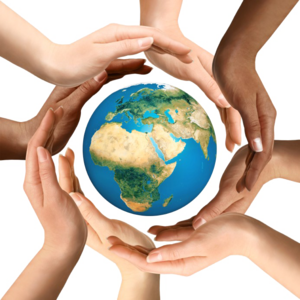 Earth In Hands Transparent PNG PNG Clip art