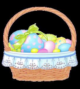 Easter Basket PNG File PNG Clip art