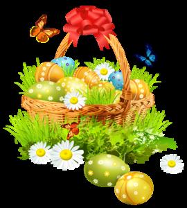 Easter Basket PNG Image PNG Clip art
