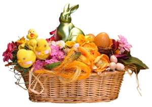 Easter Basket PNG Transparent PNG Clip art
