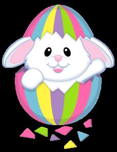 Easter Bunny Transparent Background PNG Clip art