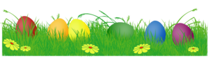 Easter Eggs In Grass PNG PNG Clip art