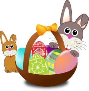 Easter Rabbit Transparent Background PNG Clip art
