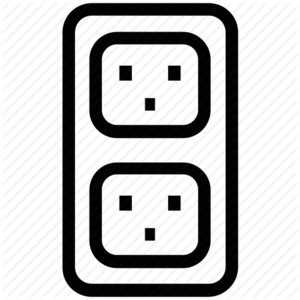 Electric Socket PNG File PNG icon