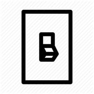 Electrical Switch PNG File PNG Clip art