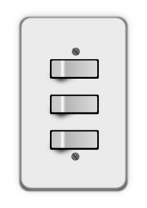 Electrical Switch PNG Transparent PNG Clip art