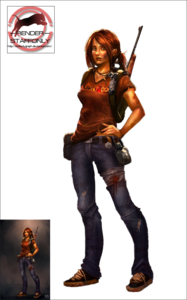 Ellie The Last of Us PNG File PNG Clip art
