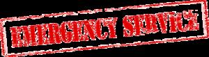 Emergency Transparent Background PNG Clip art