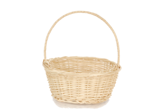 Empty Easter Basket PNG Transparent Picture PNG Clip art