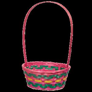 Empty Easter Basket Transparent Background PNG Clip art
