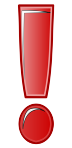 Exclamation Mark PNG Image PNG image