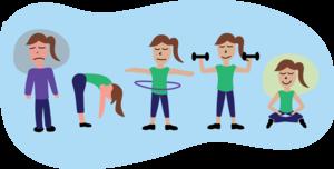 Exercise Transparent Background PNG Clip art
