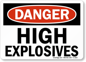 Explosive Sign Background PNG PNG Clip art