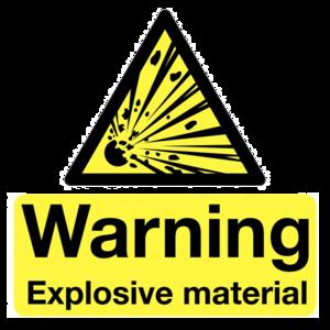 Explosive Sign Transparent Background PNG Clip art