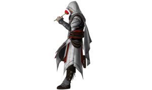 Ezio Auditore PNG Free Download PNG icons
