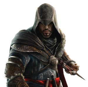 Ezio Auditore PNG HD PNG Clip art