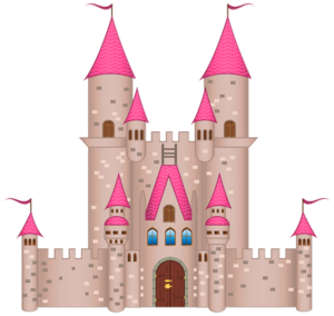 Fairytale Castle PNG File PNG Clip art