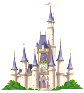 Fairytale Castle Transparent Background PNG clipart